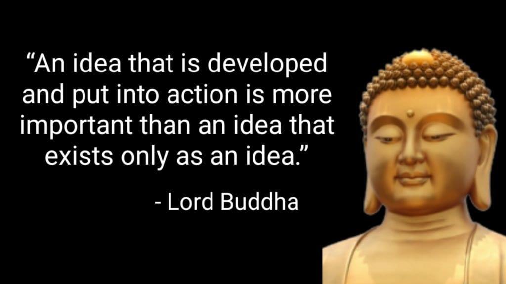 Inspirational Thought by Buddha