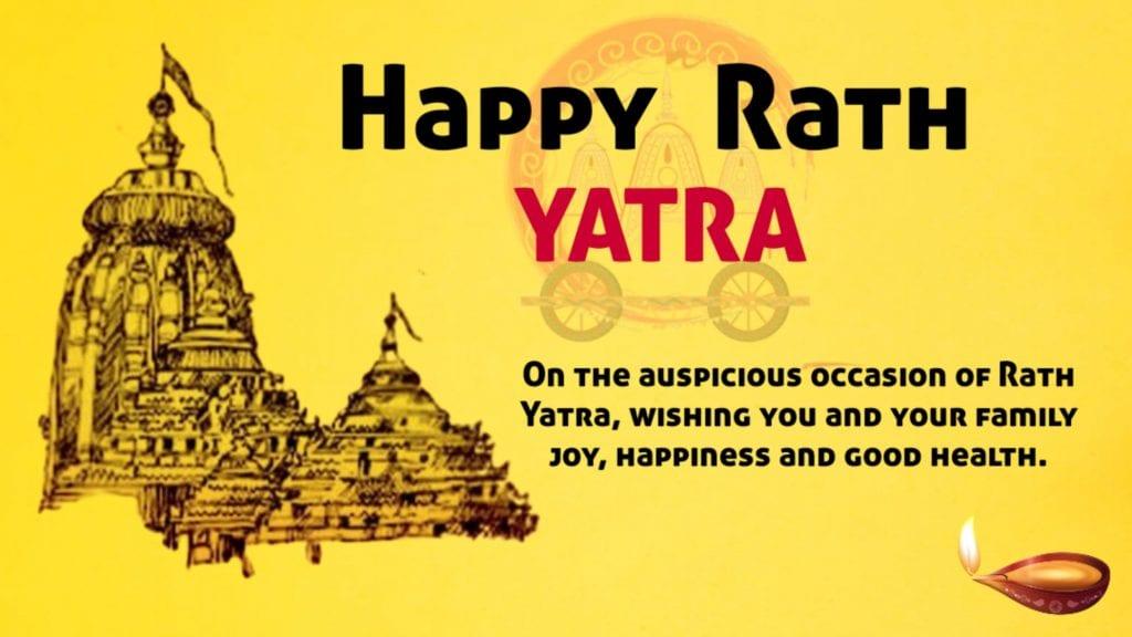 Happy Rath Yatra 2020 Whatsapp status