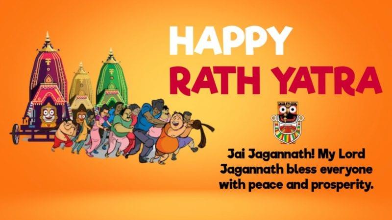 Happy Rath Yatra Status 2020