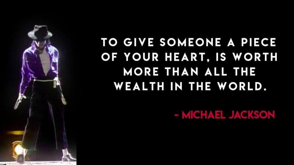 Michael Jackson Quotes on World