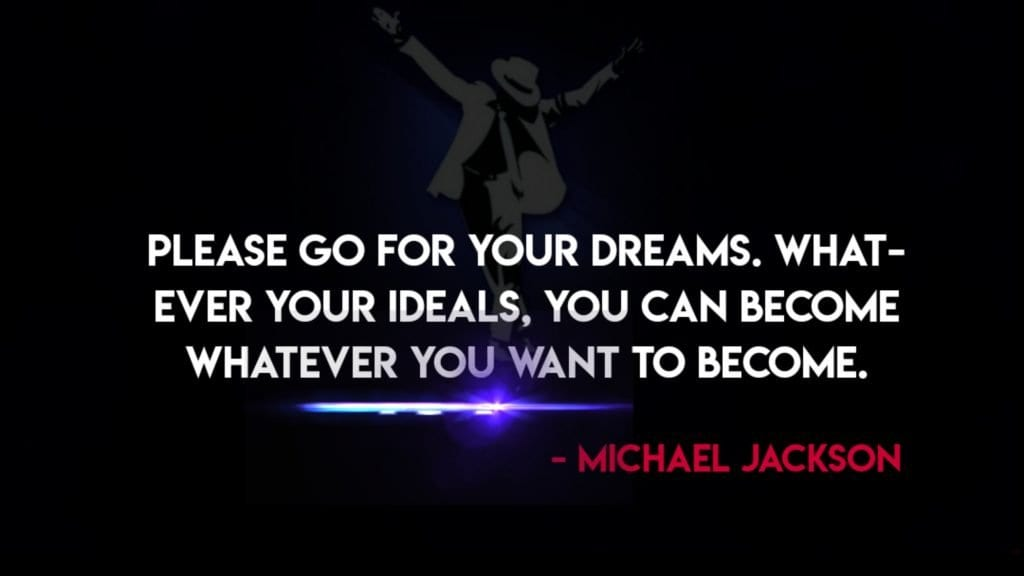 Michael Jackson Thoughts on Dream