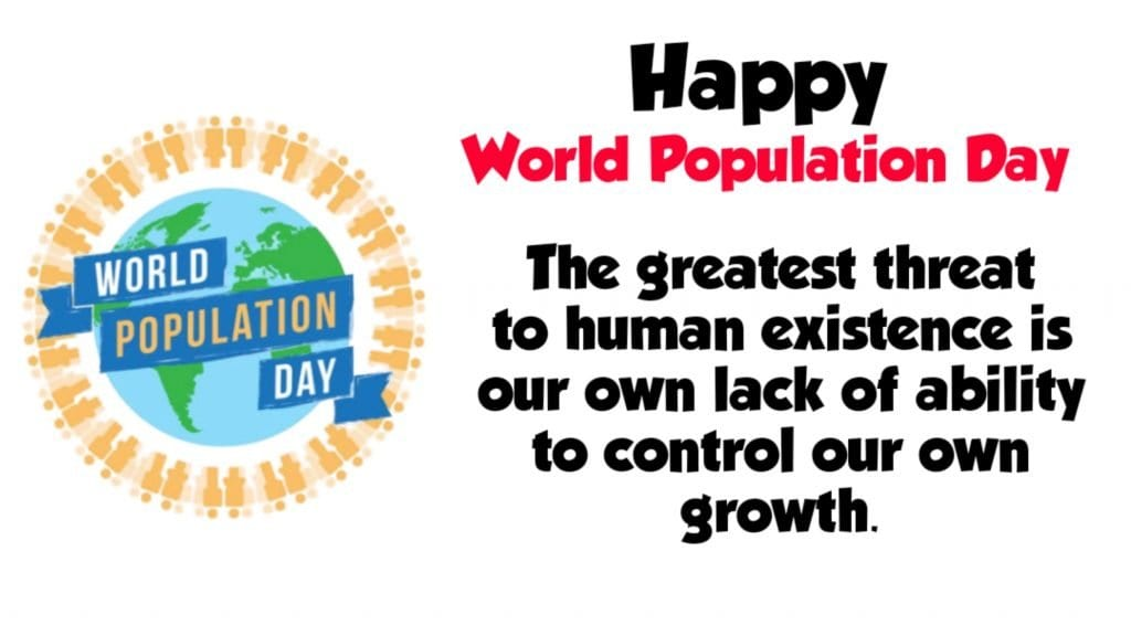 Happy World Population Day Quotes