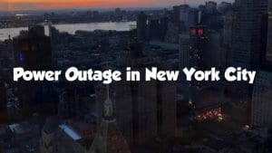 Power Outage, Manhattan, New York City Power outage,