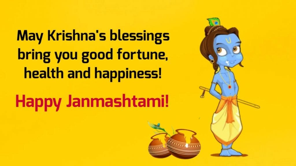 Happy Janmashtami 2020 Wishes, Status, Greeting Message and Quotes with Image