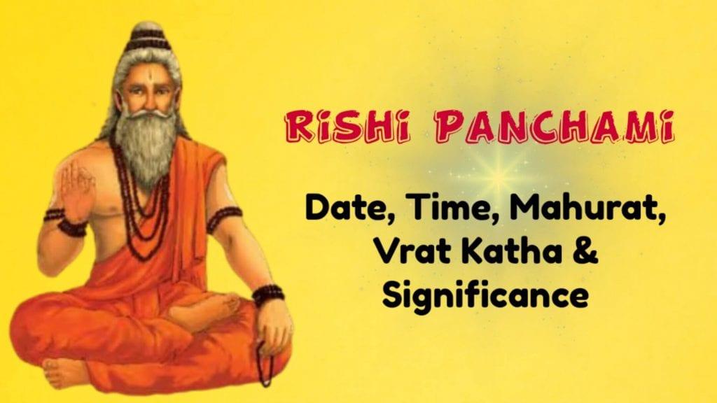 Rishi Panchami, Rishi Panchami 2020, Rishi Panchami Katha, Rishi Panchami Date, Rishi Panchami tithi