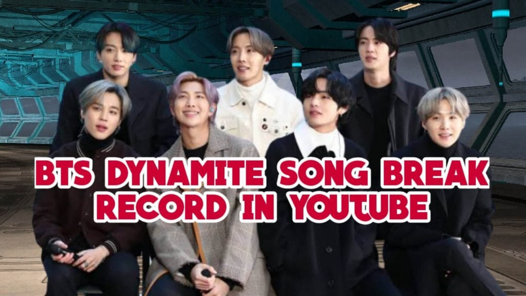 BTS Dynamite English Song get more than 70 Million Views in Youtube in just 15 Hour