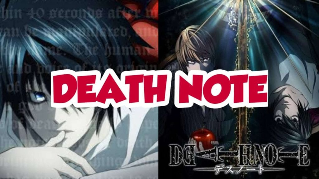 Death Note, Death Note animated Series on Netflix is trending on Twitter