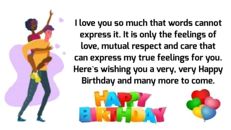 Birthday Wishes to Wife from Husband,Wife Birthday Status