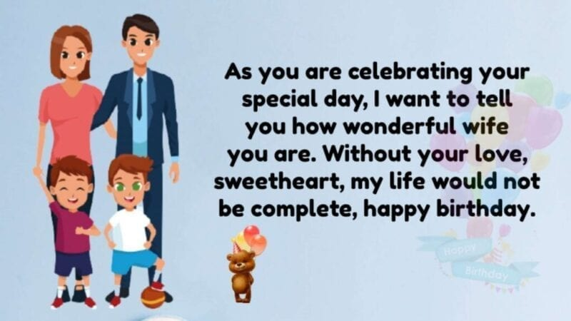 Wife Birthday Wishes Status,Immpresive Birthday Wishes for wife