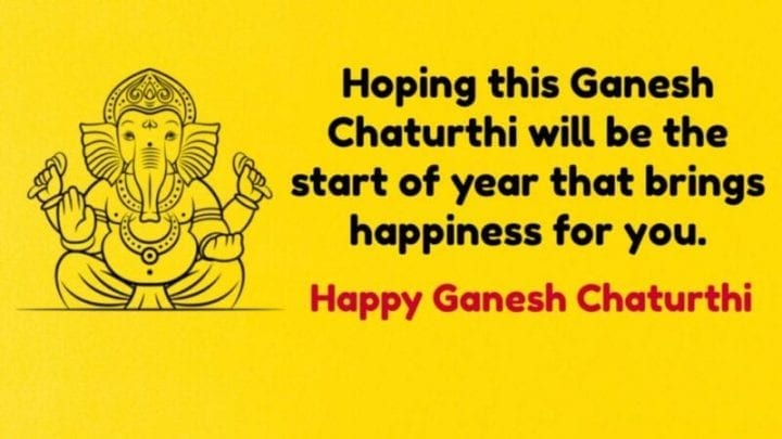 Happy Ganesh Chaturthi 2020 Quotes Images