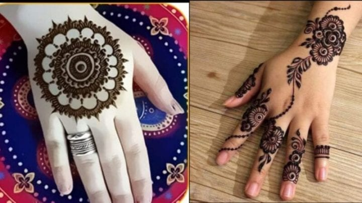 Esay Mehndi Design you can do at your home, eid special mehndi design 2020
