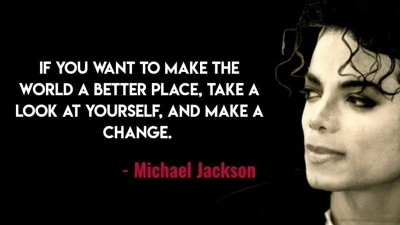 Michael Jackson Thoughts on Life