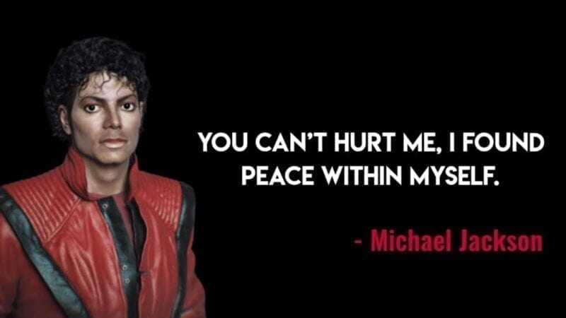 Peace Quotes by Michael Jackson
