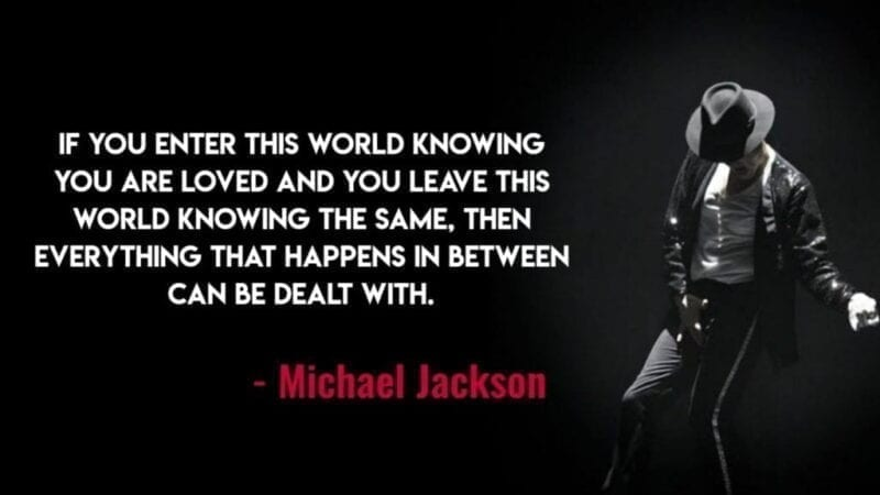 Michael Jackson Quotes on Love