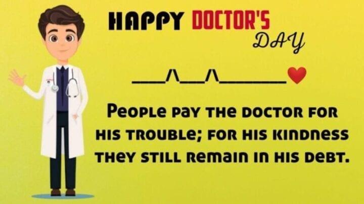 Happy Doctors Day 2020 Image
