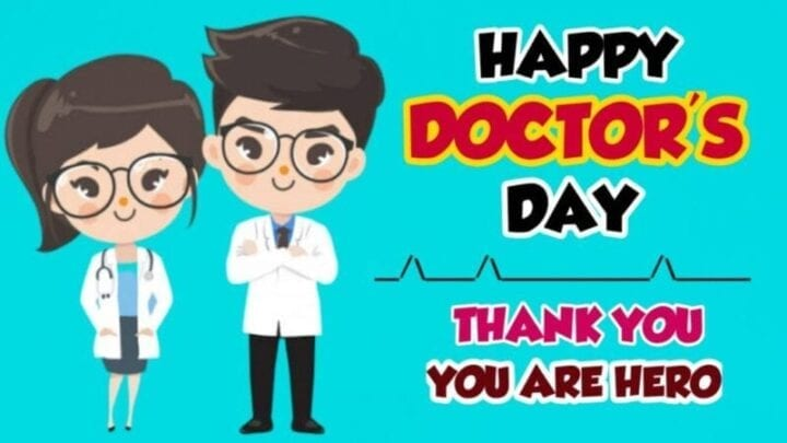 National Doctors Day Card 2020