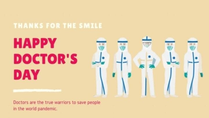Tribute to the doctors who fight against coronavirus