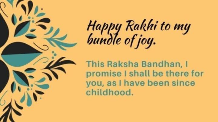Happy Raksha Bandhan 2020 Wishes Message