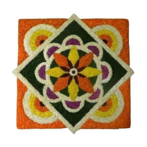 Simple Design of Onam Pookalam Images, Onam Pookalam Simple Designs