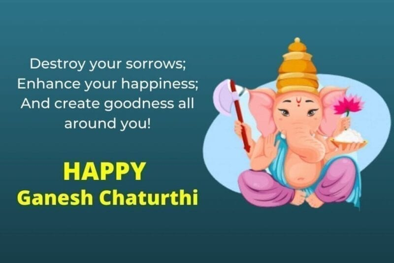 Happy Ganesh Chaturthi Status Images , Vinayaka Chaturthi Quotes Images 2020