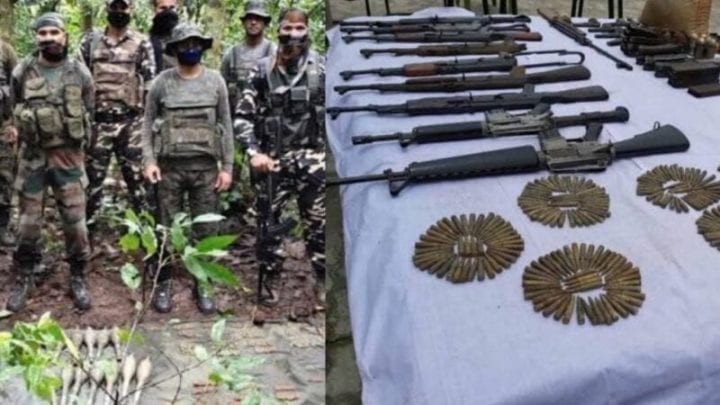 Huge cache of arms, explosives seized in Assam ahead of I-Day, Hindustan Times, Times Now, Latest News