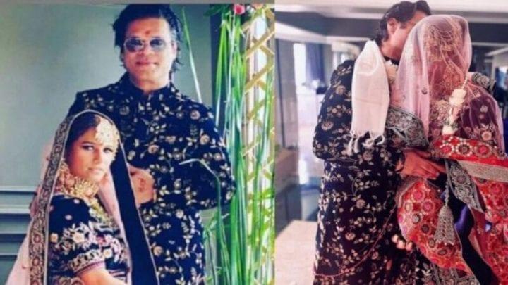 Poonam Pandey, Poonam Pandey Marriage, Poonam Pandey Weeding, Shyam Bombay, Poonam Pandey Marriage Pic
