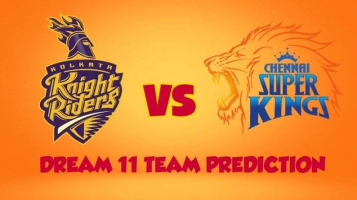 CSK vs KKR Dream11 Team Predictions,CSK vs KKR Playing 11,CSK Squad 2020,KKR Squad 2020,IPL 2020,MS Dhoni,Dinesh Karthik,