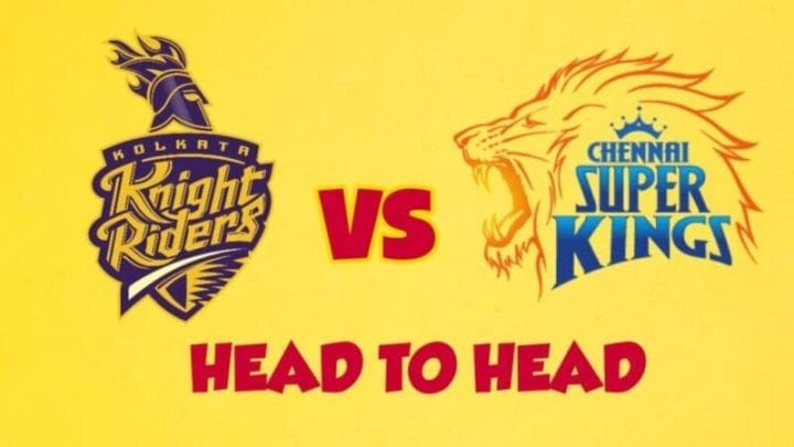 CSK vs KKR Head to Head,CSK vs KKR,Head to Head CSK vs KKR,KKR vs CSK Head to Head, IPL 2020,IPL