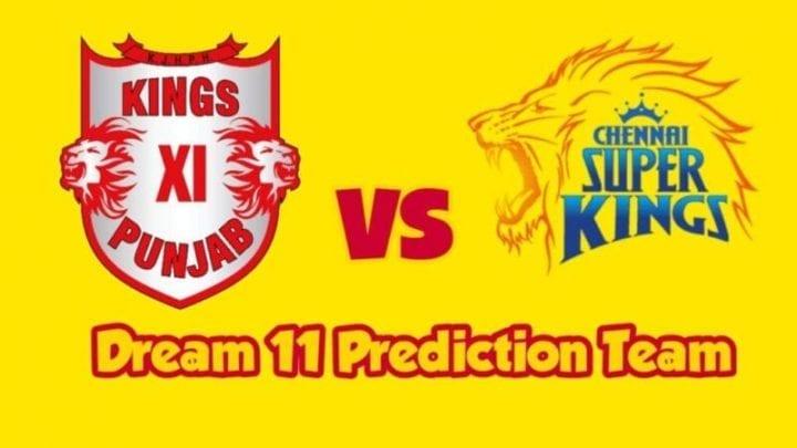 KXIP vs CSK Dream11 Team Prediction, KXIP vs CSK Playing 11, KXIP vs CSK Dream11 Team, CSK Squad 2020