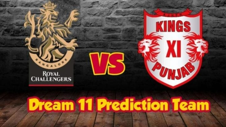 KXIP vs RCB Dream11 Team Prediction, KXIP vs RCB, KXIP squad 2020, RCB Squad 2020, KXIP vs RCB playing 11