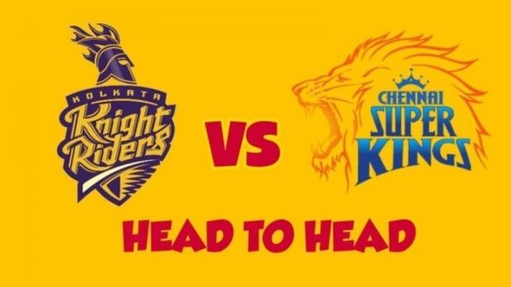 KKR vs CSK Head to Head,KKR vs CSK,Head to Head KKR vs CSK,KKR vs CSK Head to Head, IPL 2020,IPL