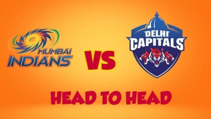 MI vs DC Head to Head,MI vs DC,Head to Head MI vs DC,DC vs MI Head to Head, IPL 2020,IPL