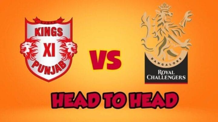 RCB vs KXIP Head to Head,RCB vs KXIP,Head to Head RCB vs KXIP,RCB vs KXIP Head to Head, IPL 2020,IPL