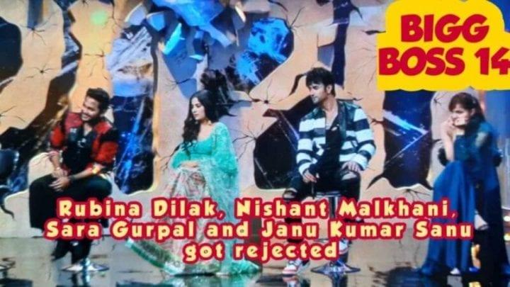 Bigg Boss 14, Bigg Boss 2020, Sidharth Shukla, Gauahar Khan, Hina Khan, Rubina Dilak