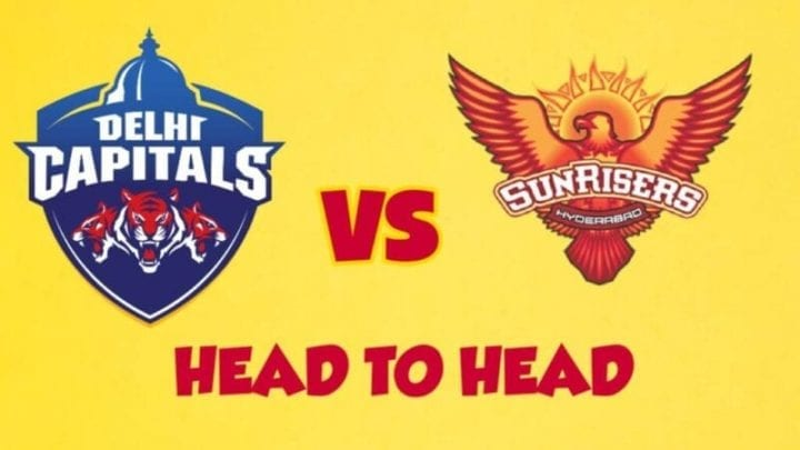 SRH vs DC Head to Head,SRH vs DC,Head to Head SRH vs DC,SRH vs DC Head to Head, IPL 2020,IPL