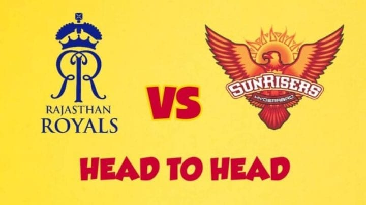 SRH vs RR Head to Head,SRH vs RR,Head to Head SRH vs RR,RR vs SRH Head to Head, IPL 2020,IPL