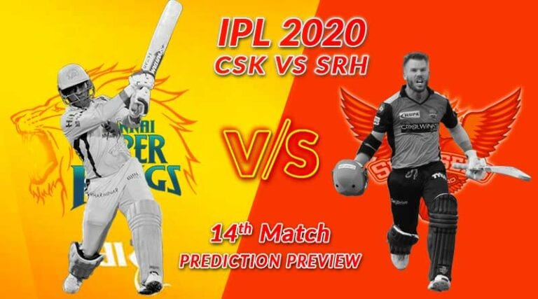 IPL 2020: CSK vs SRH Dream 11 Team Prediction, Playing 11, Squad, Fantasy Cricket Tips, Weather Forecast, Pitch Report and Chennai Super Kings vs Sunrisers Hyderabad